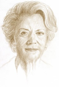 Benedikte, drawing 2